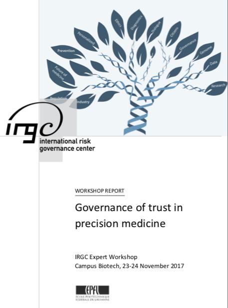 IRGC Workshop report