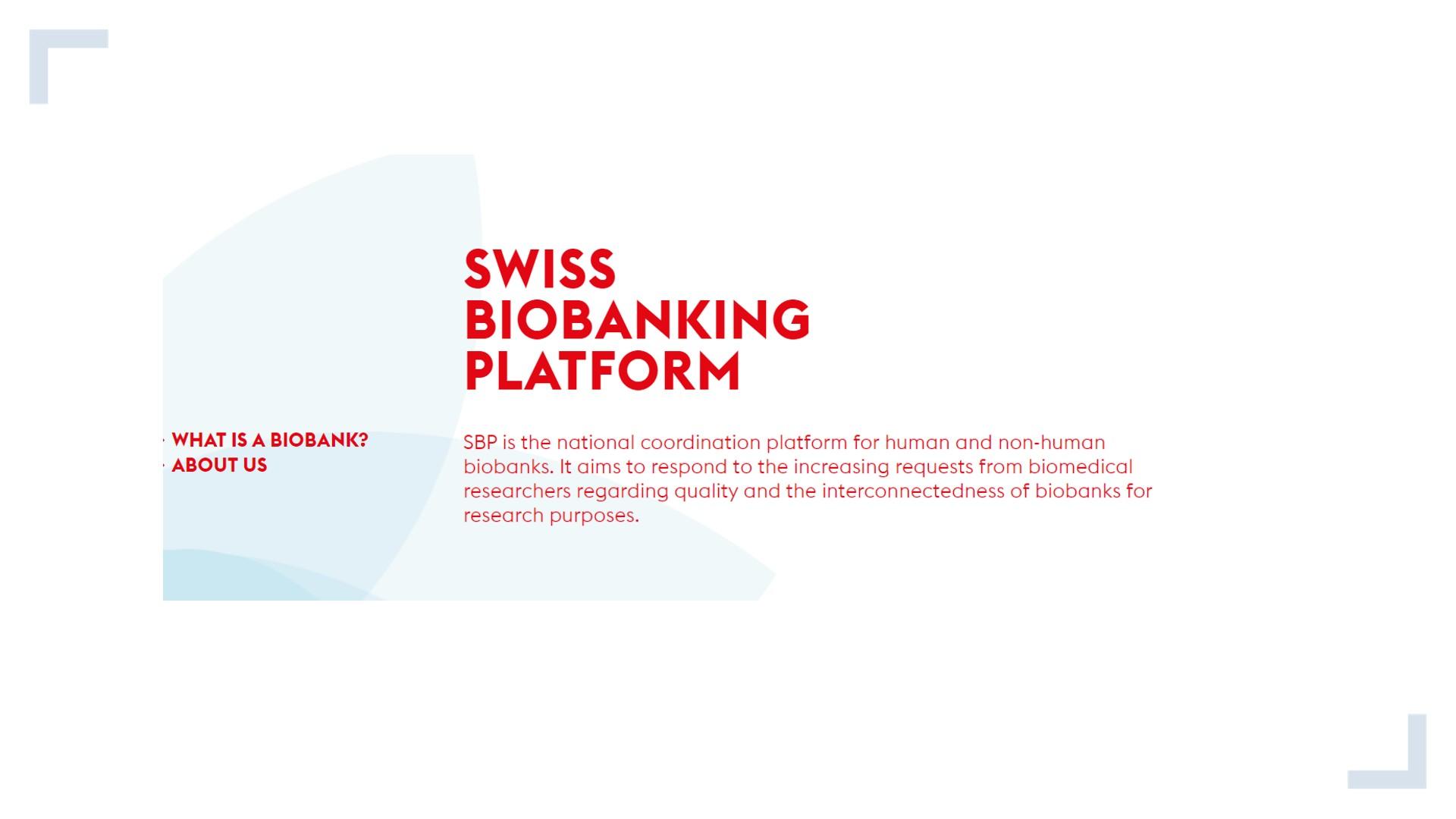 SwissBiobankingPlatform